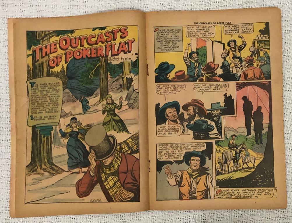 Classics Illustrated Comics No. 62 (1949): Bret Harte's Western Stories