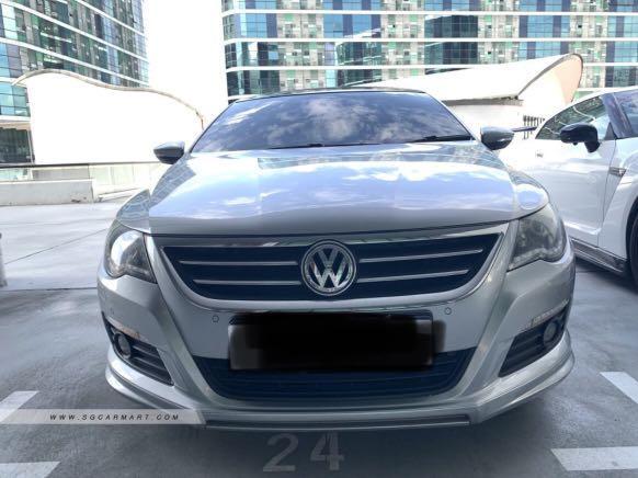 For Rent: VW Passat CC 2.0A TSI