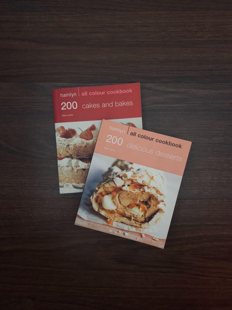 Hamlyn Cookbooks: 200 Delicious Desserts & 200 Cakes and Bakes (2 pcs.)