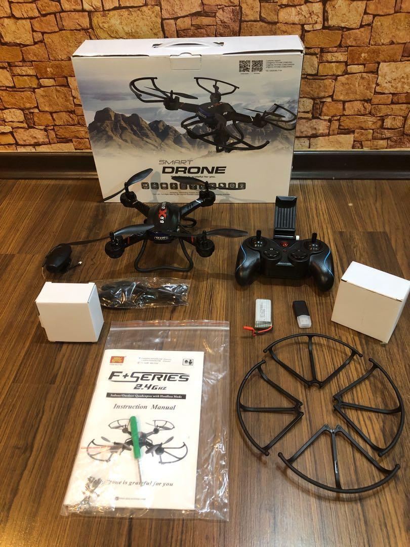Holy Stone F181c Rc Quadcopter Drone With Hd Camera Rtf 4 Channel 2 4ghz 6 Gyro With Altitude Hold Function Headless Mode And One Key Return Home Color Black Photography Drones On Carousell