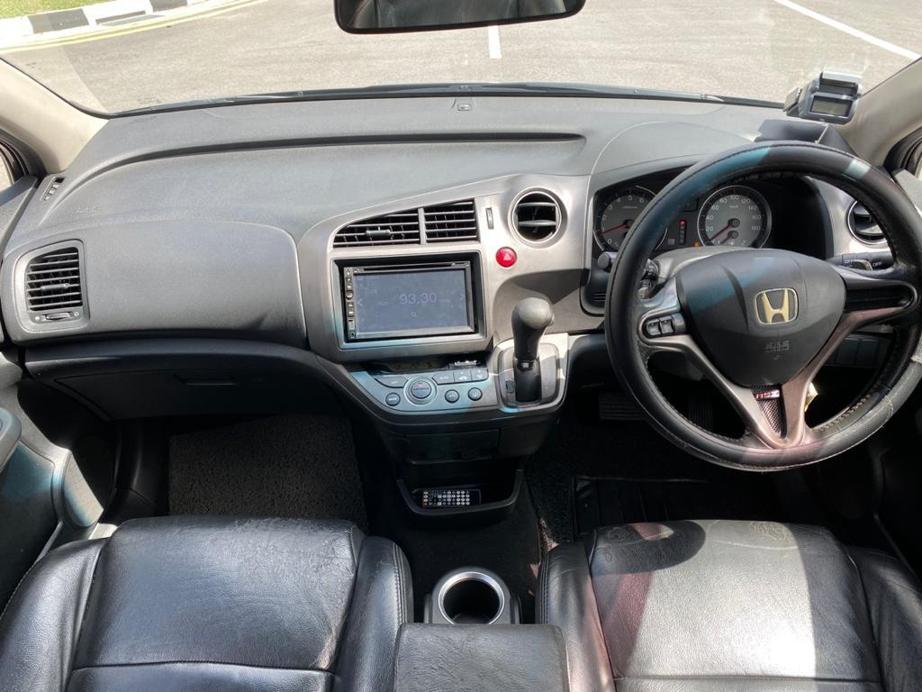 Honda stream for car rental grab gojek personal use