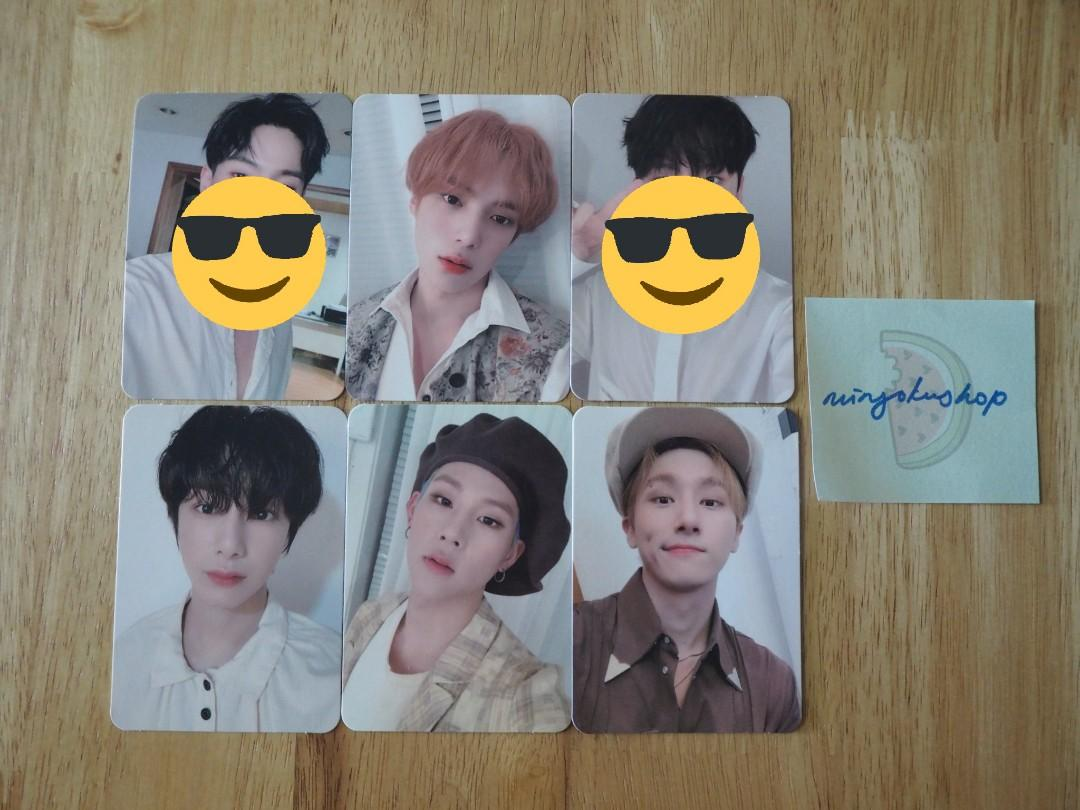 MONSTA X FOLLOW: FIND YOU OFFICIAL PHOTOCARD (STARSHIP SQUARE PREORDER BENEFIT)