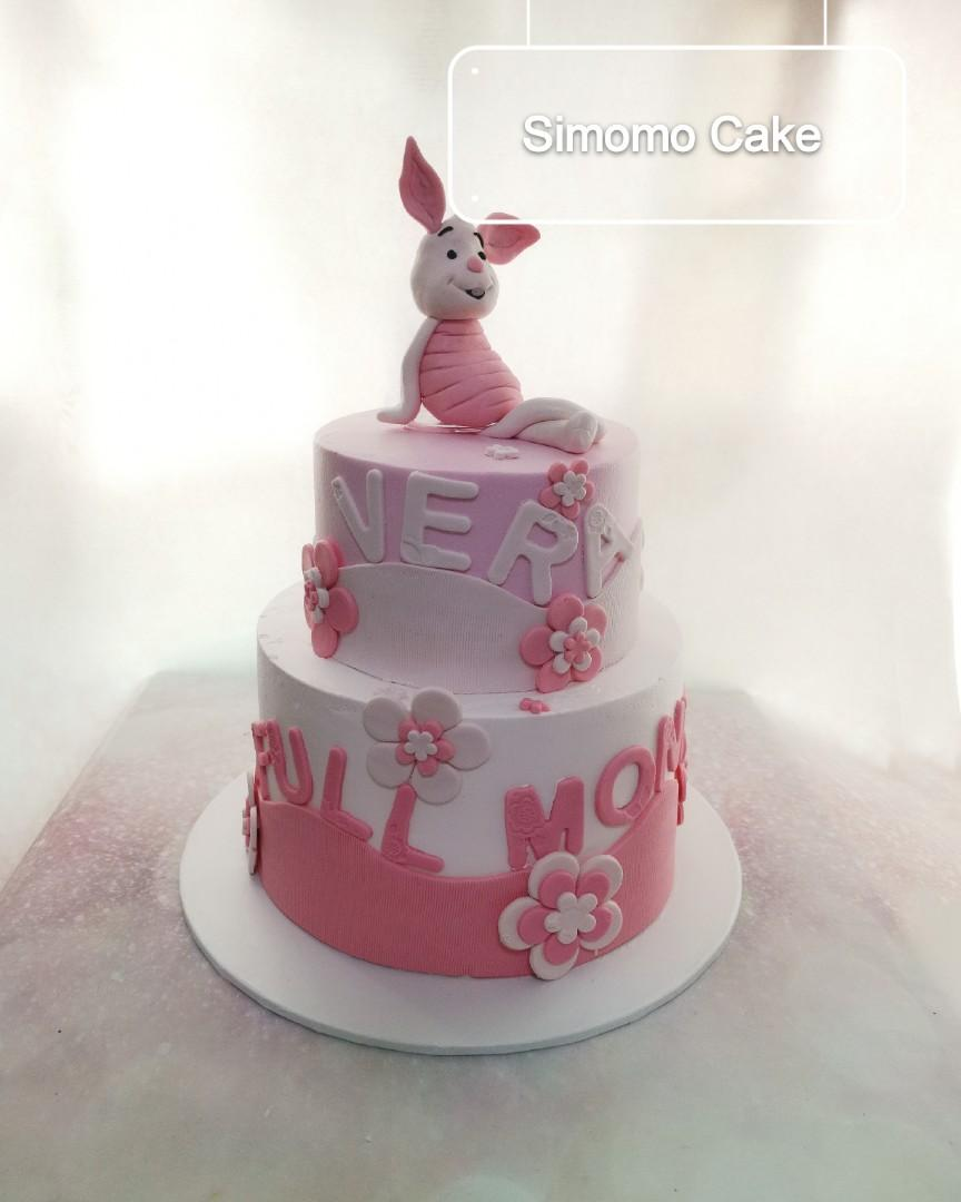Groovy Piglet Cake Winnie The Pooh Birthday Cake Free Delivery Food Funny Birthday Cards Online Alyptdamsfinfo