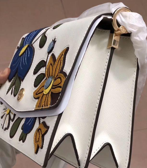 Ready stock authentic Tory Burch Robinson shoulder bag sling crossbody handbag
