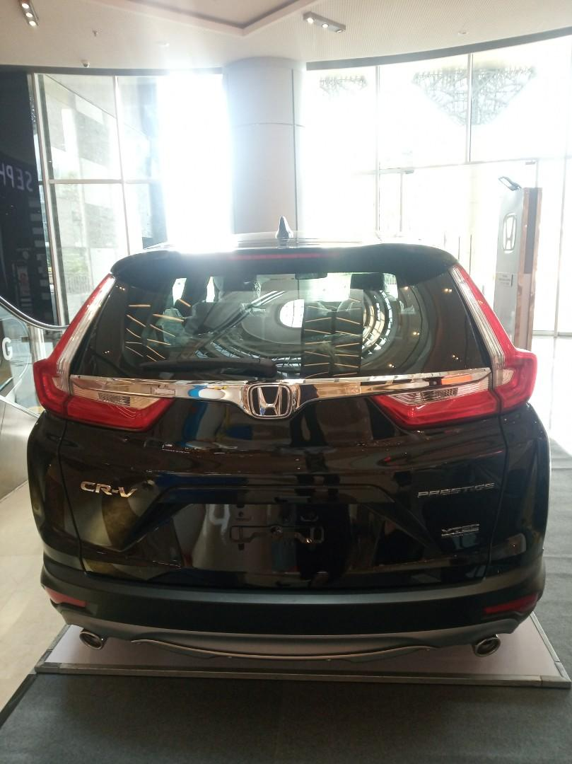 Ready Stock CR-V 1.5 Turbo Prestige Nik 2019 Stock Terbatas