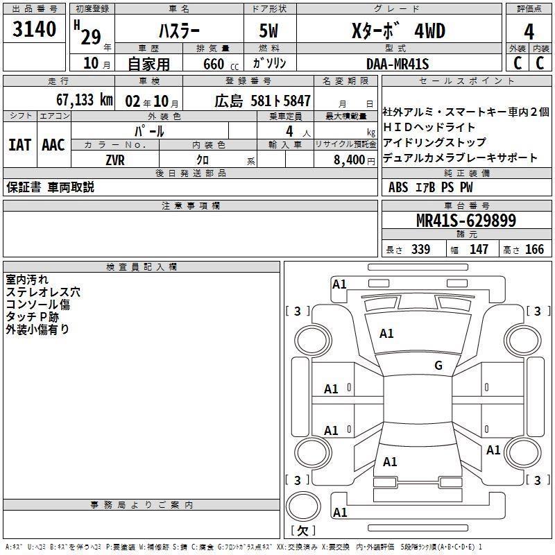 Suzuki Hustler 660 (A)