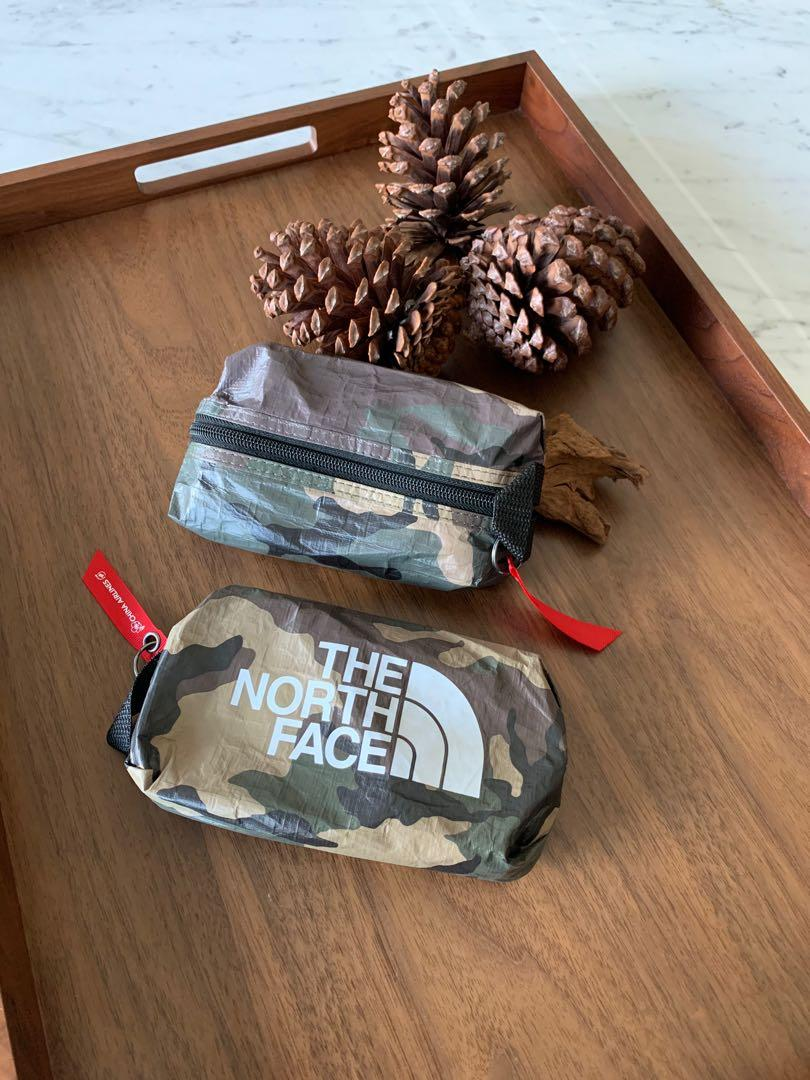 The North Face x China Airlines Travel Pouch / mini travel bag / makeup bag /