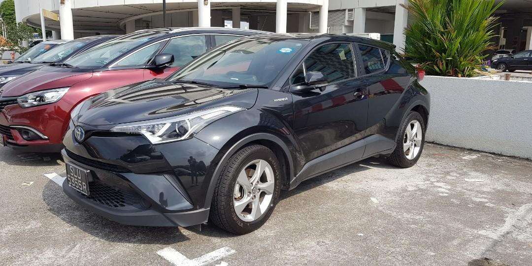 Car rental /Toyota CHR for rent/ Private Hire relief/ CNY car for rent