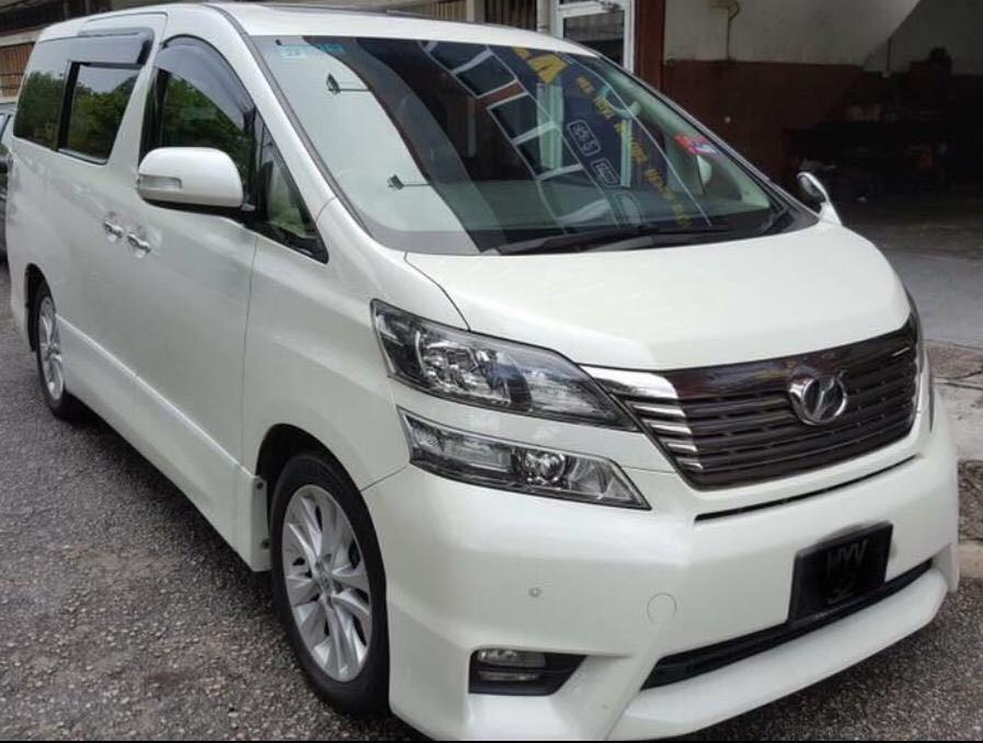 Toyota Vellfire 2.4 (A) Sewa Murah for Rent Cheapest in Town