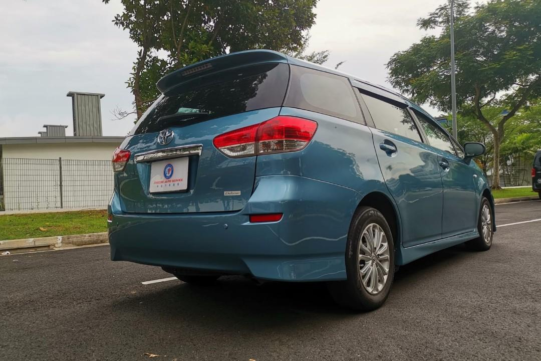 Toyota wish for car rental grab gojek personal usage