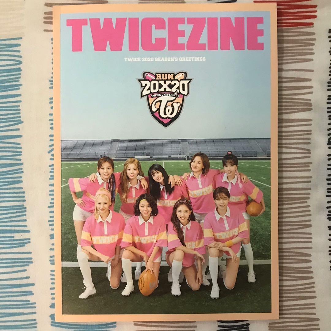 Twice Twicezine Run 20X20 Season Greeting Photobook