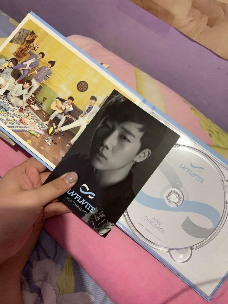 (UNSEALED) Infinite - New Challenge Album without poster