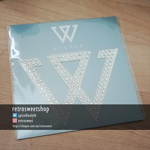WINNER Japan Lightstick Accessory: W Sticker (JINU)