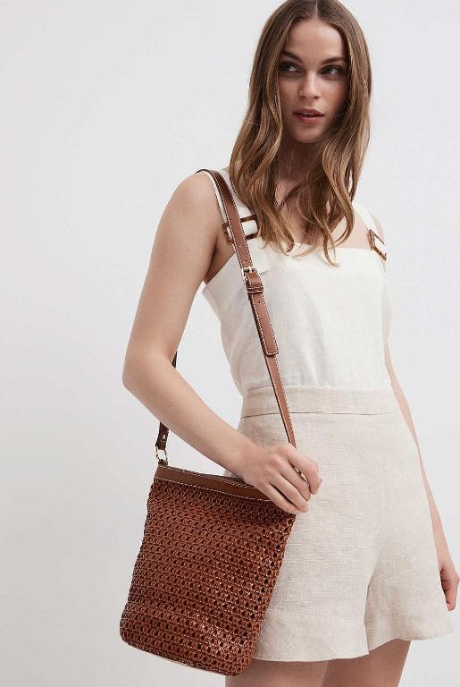 Witchery Pleated Bucket Bag, brand new January 2020 style, RRP$129.95