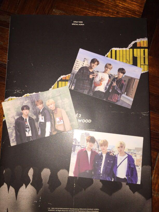 [wts] stray kids group photocard (preorder benefit)