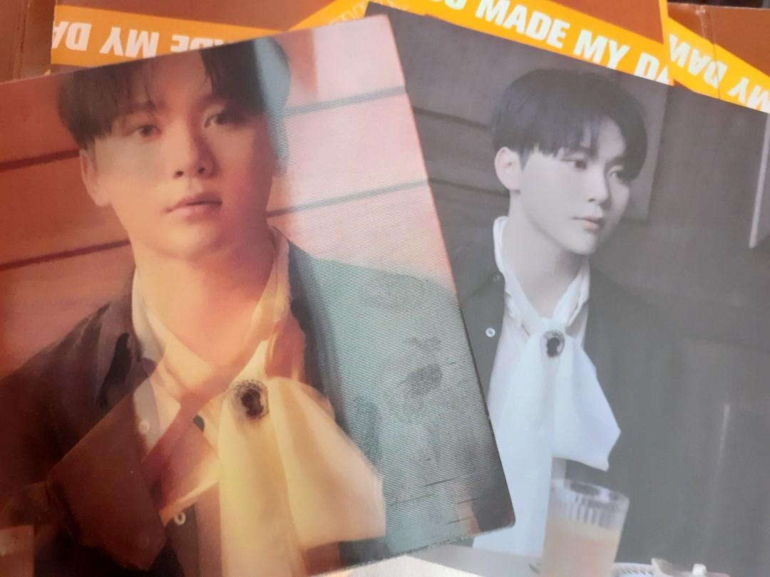 [WTS] YMMD Eternal Sunshine Lenticular and Behind Card