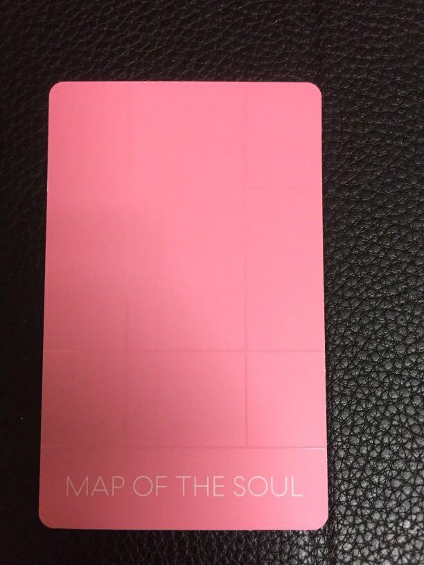 WTT / WTS  Bts Map of the Soul Persona RM Version 3 Photocard