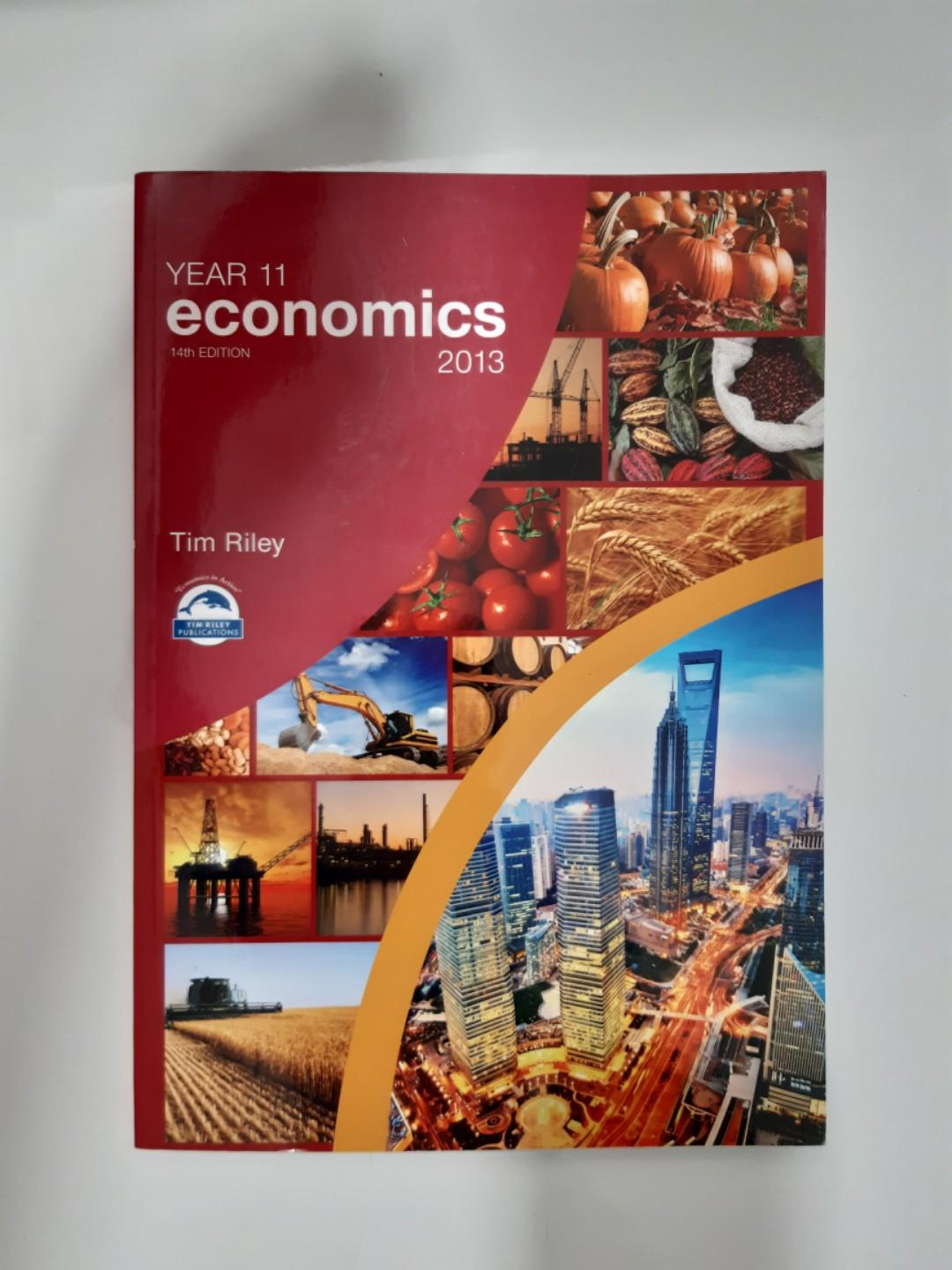 Year 11 economic textbook by Tim Riley (14th edition)