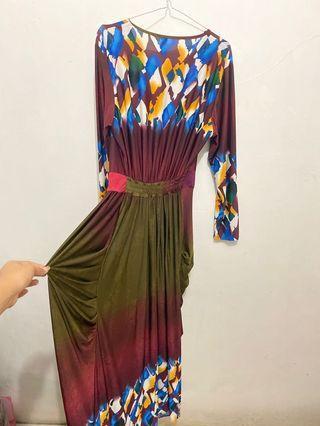 Middle Eastern Long Dress | Dress Panjang Middle Eastern | Gamis Panjang