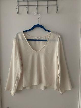 Wilfred Blouse from Aritzia - Size Large