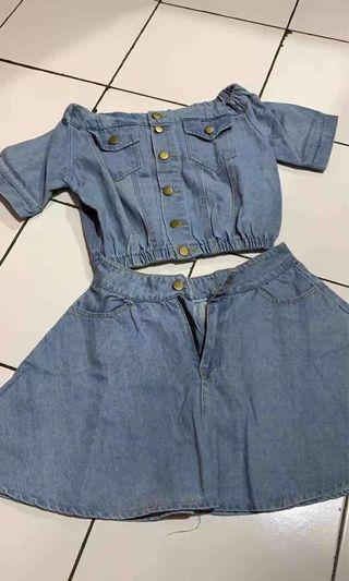 One set jeans