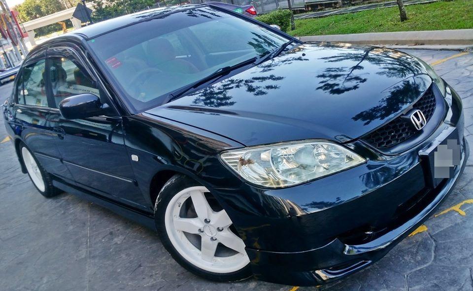 2005 Honda Civic 1.7(A) muka2990 LoanKedai Jika ada akpk boleh pasti lulus