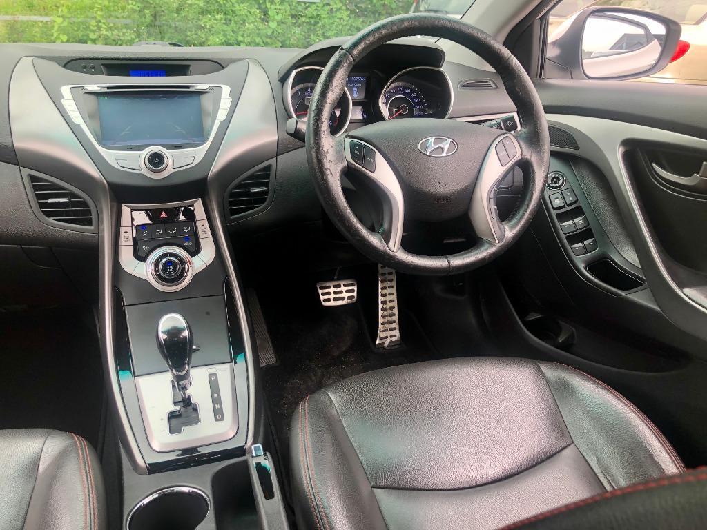 2012 Hyundai Elantra 1.6 GLS (A) R/CAMERA L/SEAT NEW YEAR SUPER