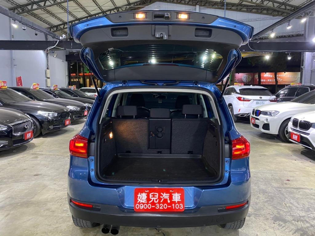 正2014年出廠 大改新款總代理 Volkswagen/福斯 Tiguan 1.4雙渦輪