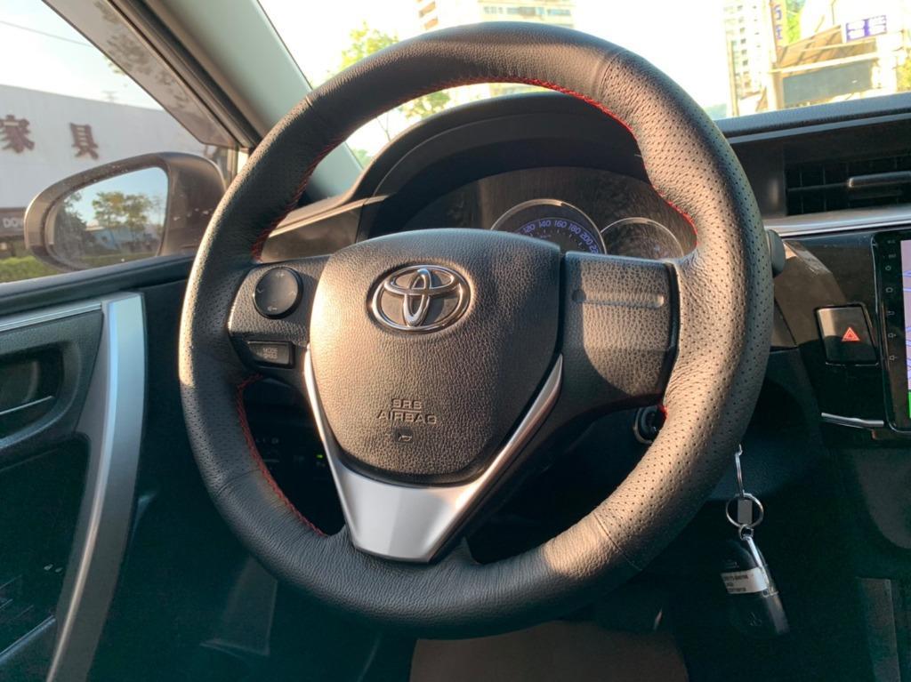正2014年 最新款Toyota Altis 1.8E 最夯白色