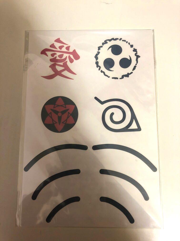 火影忍者紋身貼紙