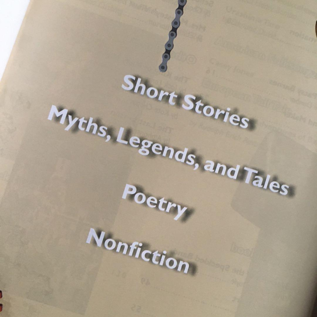 Anthology Collections Books: Poetry, Non-Fiction, Myths/Tales, Short Stories