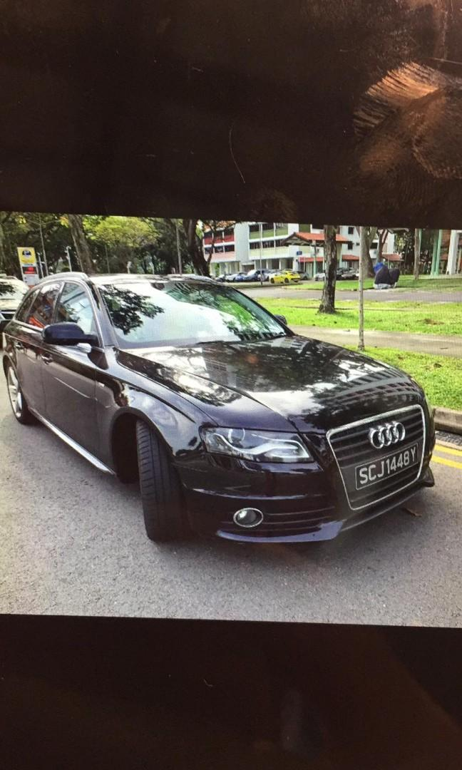 Audi for rent during CNY