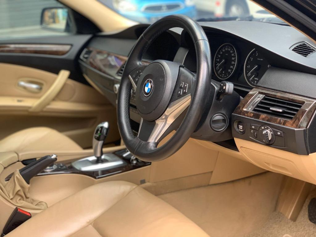 BMW 525i XL LUXURY Cheapest rental in town! $500 Deposit driveoff immediately! whatsapp 85884811 now to reserve!!
