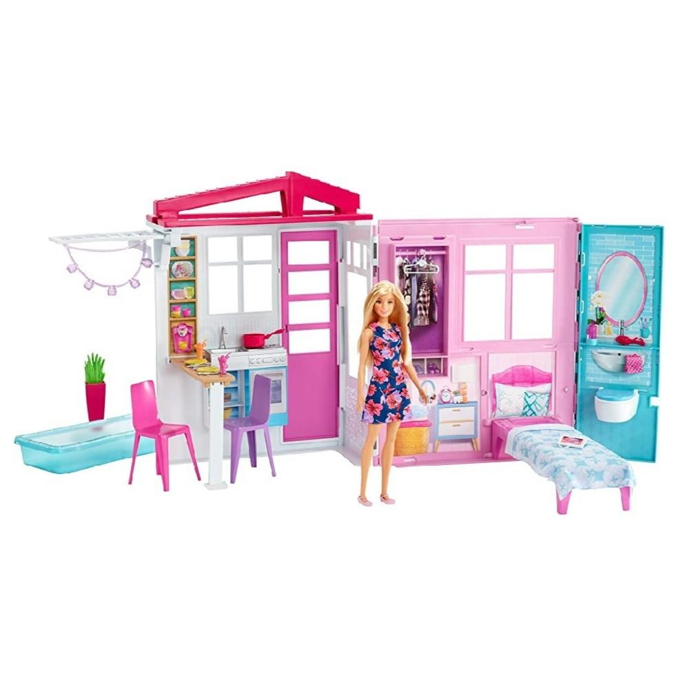 Bn Barbie Doll House Portable