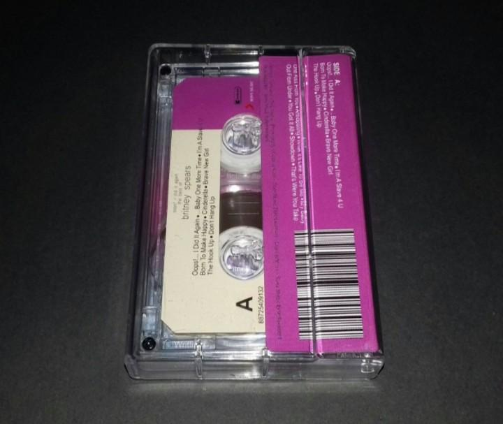 Britney Spears - Oops! I Did It Again The Best Of - Cassette Tape