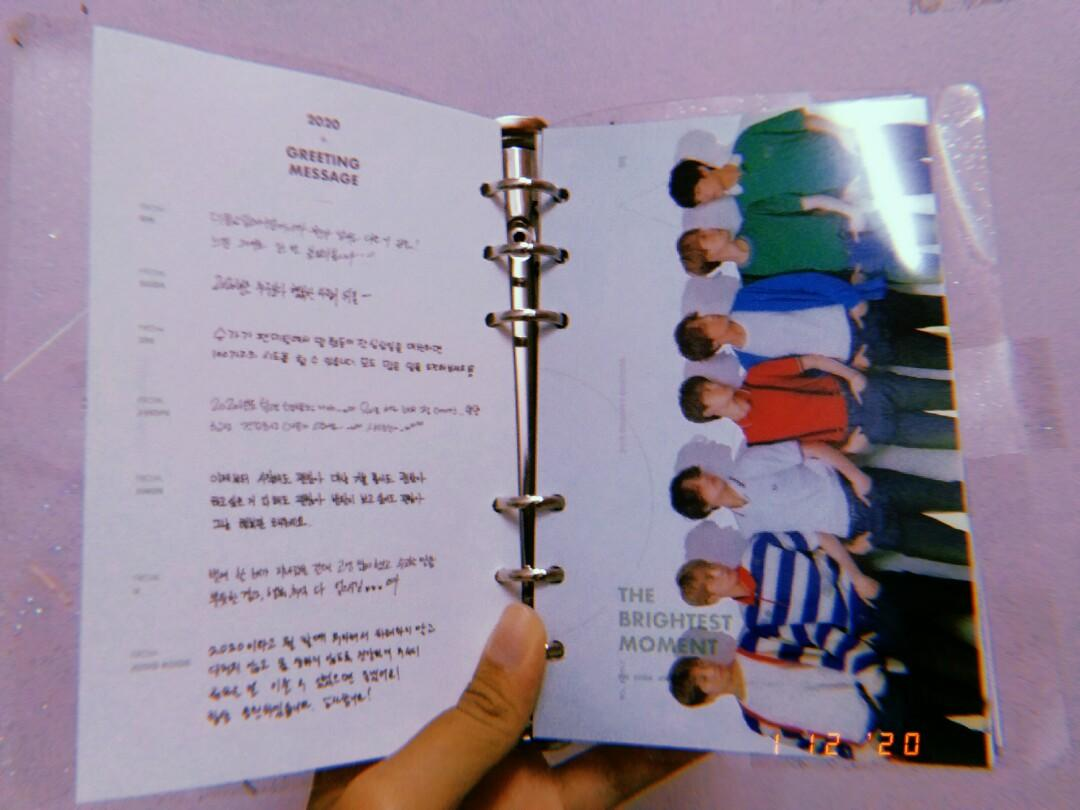 BTS 2020 SEASON GREETING DIARY PLANNER | (NEGOTIABLE)