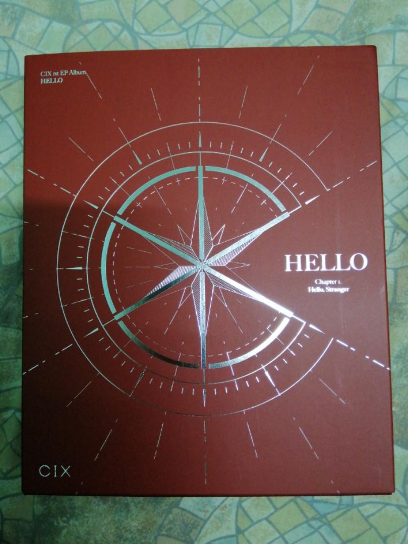 CIX 1st Album [HELLO Chapter 1: Hello, Stranger] (Hello ver)