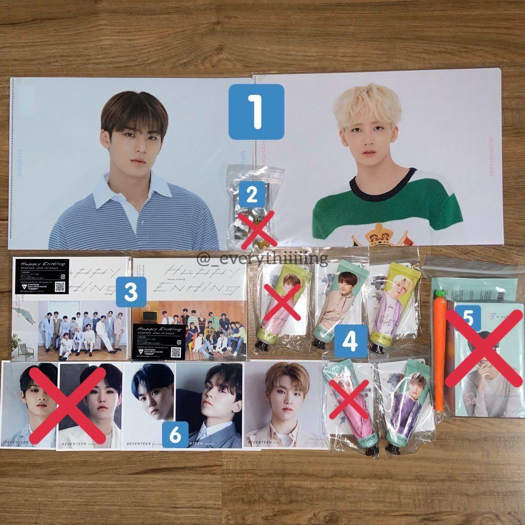 🗣CLEARANCE SALE🗣 SEVENTEEN OFFICIAL GOODS FROM JAPAN AND KOREA
