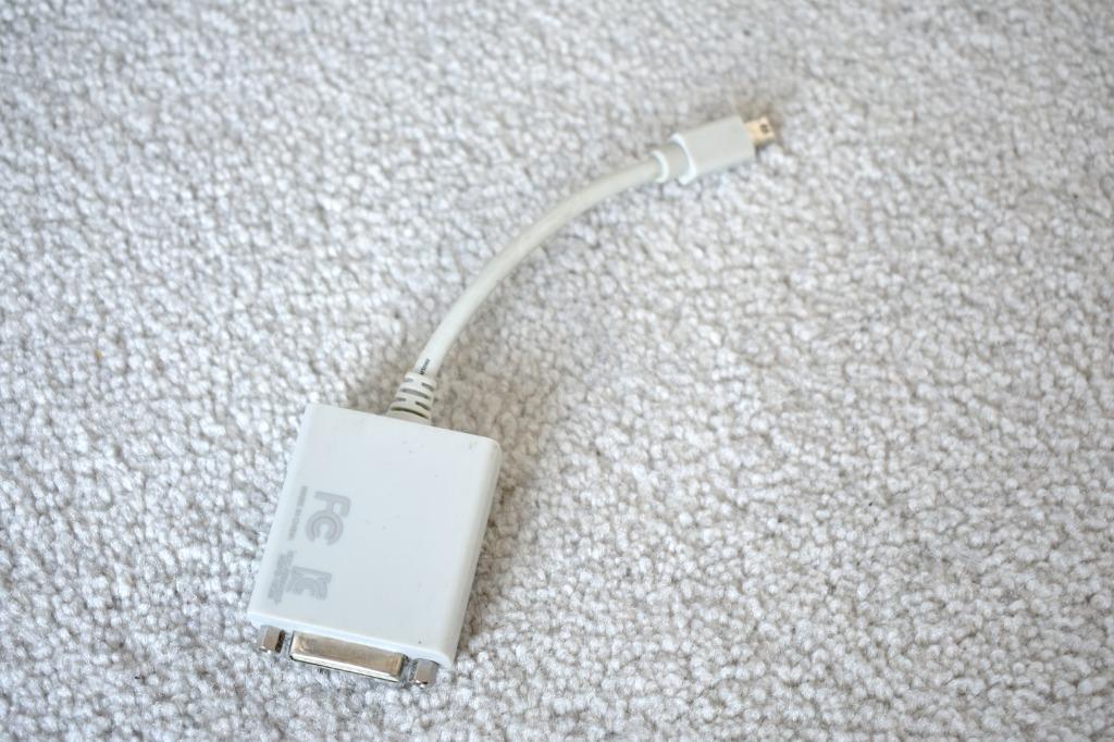 DVI to Mini Displayport Macbook External Display connector