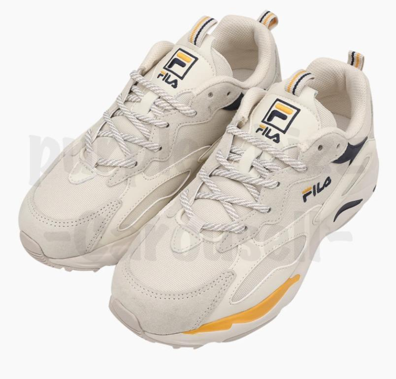Fila x BTS Jin Raytracer Shoes White & Blue 1RM01153_444