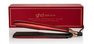 GHD Platinum Limited Edition Deep Scarlet - with bag  - gift boxed