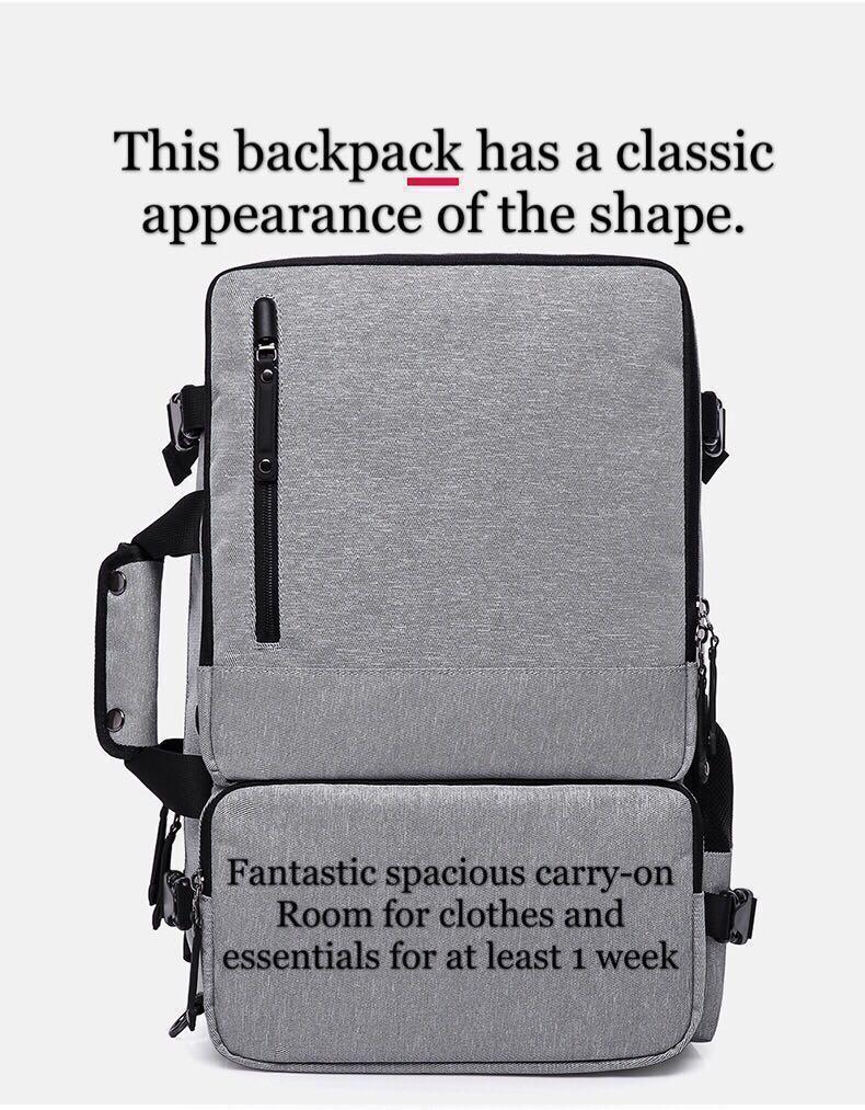 High Capacity Laptop Anti theft Backpack Men Business Luggage Shoulder Bags Waterproof Travel Backpacks Schoolbag