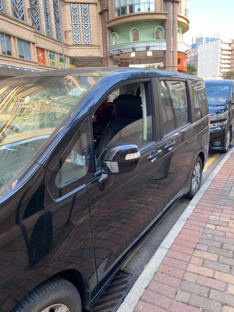 Honda 2013 STEPWGN 黑色 行貨 7人車