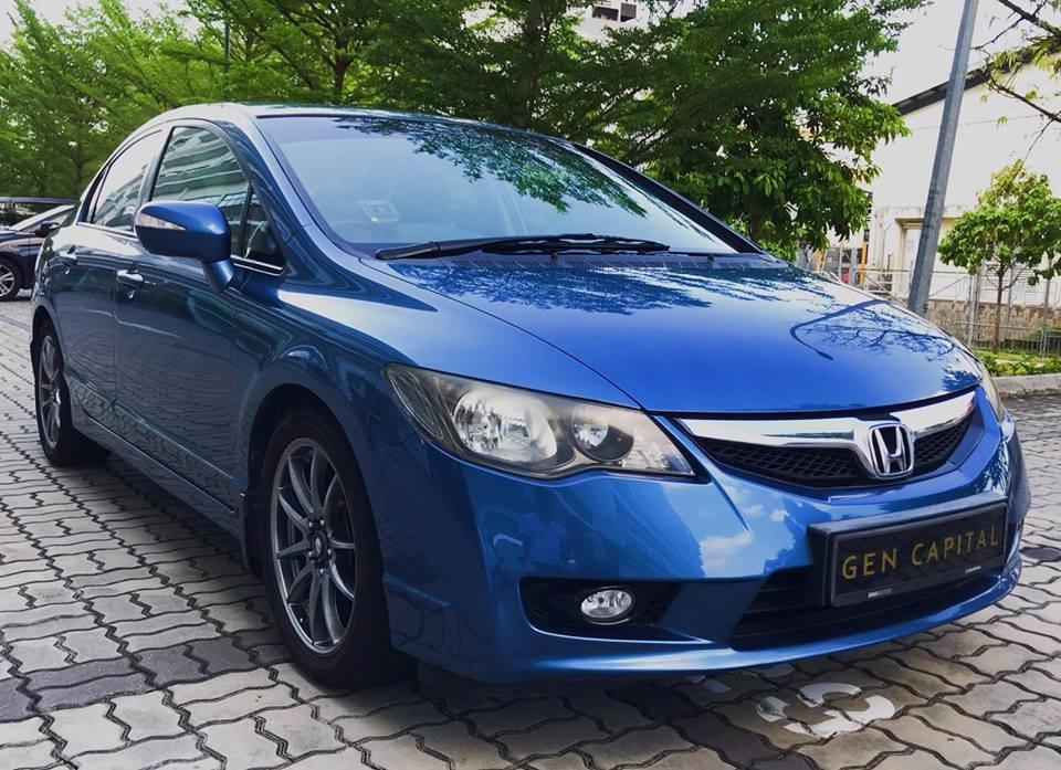 Honda Civic 1.8A JUST IN!!Cheapest rental in town! $500 Deposit driveoff immediately! whatsapp 85884811 now to reserve!!
