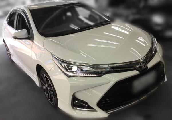 Jc car 2018年 Toyota Altis 1.8L 末代頂級版 滿配 IKEY 電動椅 巡跡 影音 省油耐操代步神