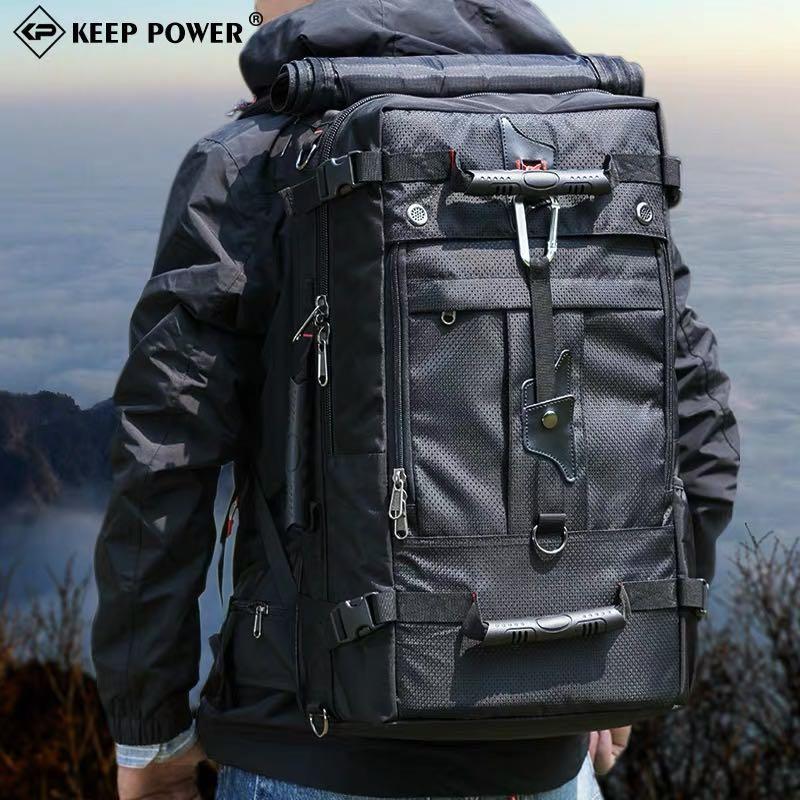 KAKA Outdoor Travel Backpack Travel Large Capacity Multifunctional Waterproof Mountaineering Laptop Bag