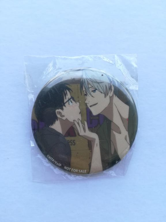 (Limited + Exclusive) Yuri!!! on Ice - Katsuki Yuri & Victor Nikiforov - Badge