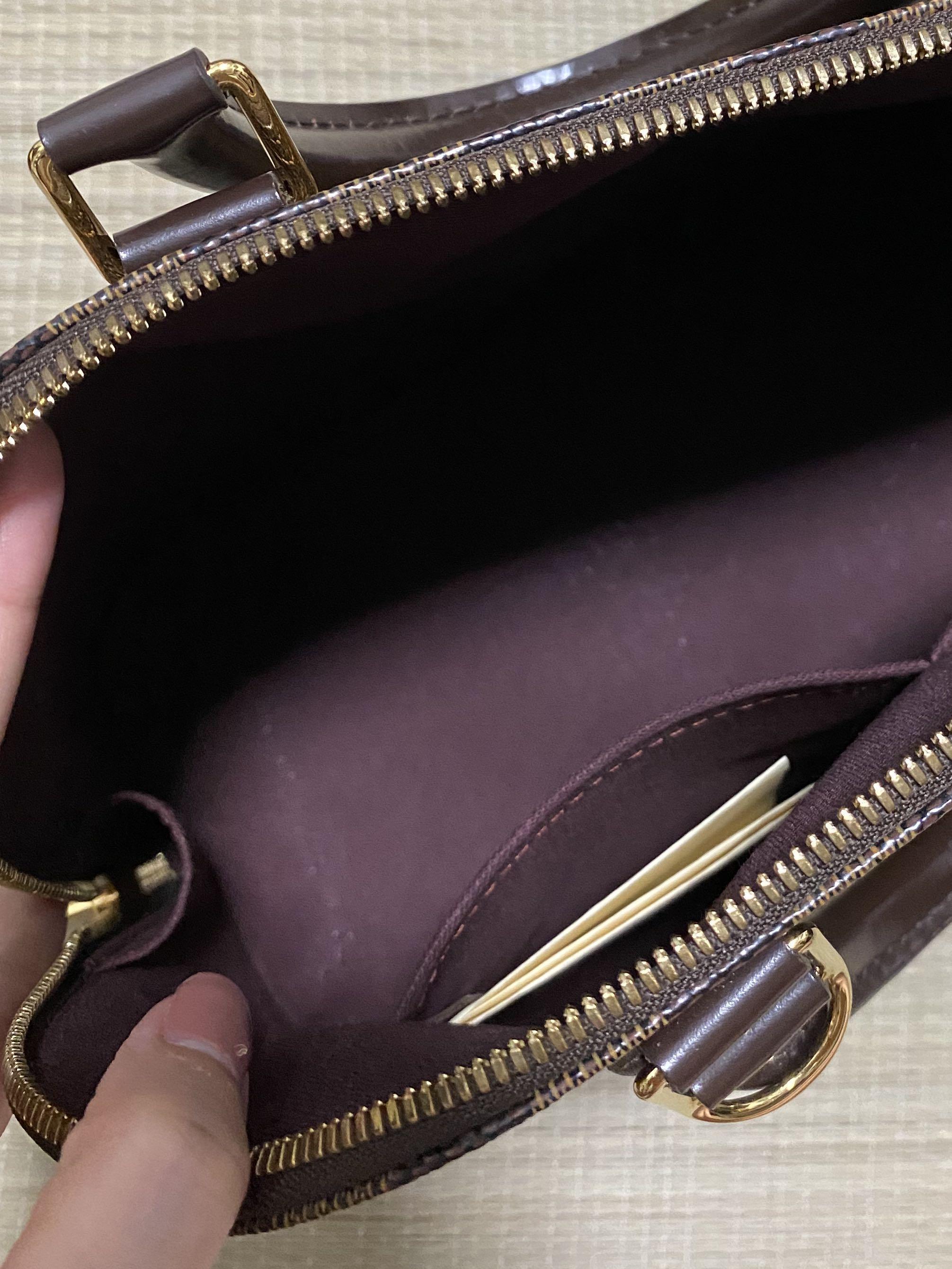 Louis Vuitton Alma PM (tags: bags, LV, Damier, Ebene, brandedbag, branded, LVbags, bag, luxury, gift)
