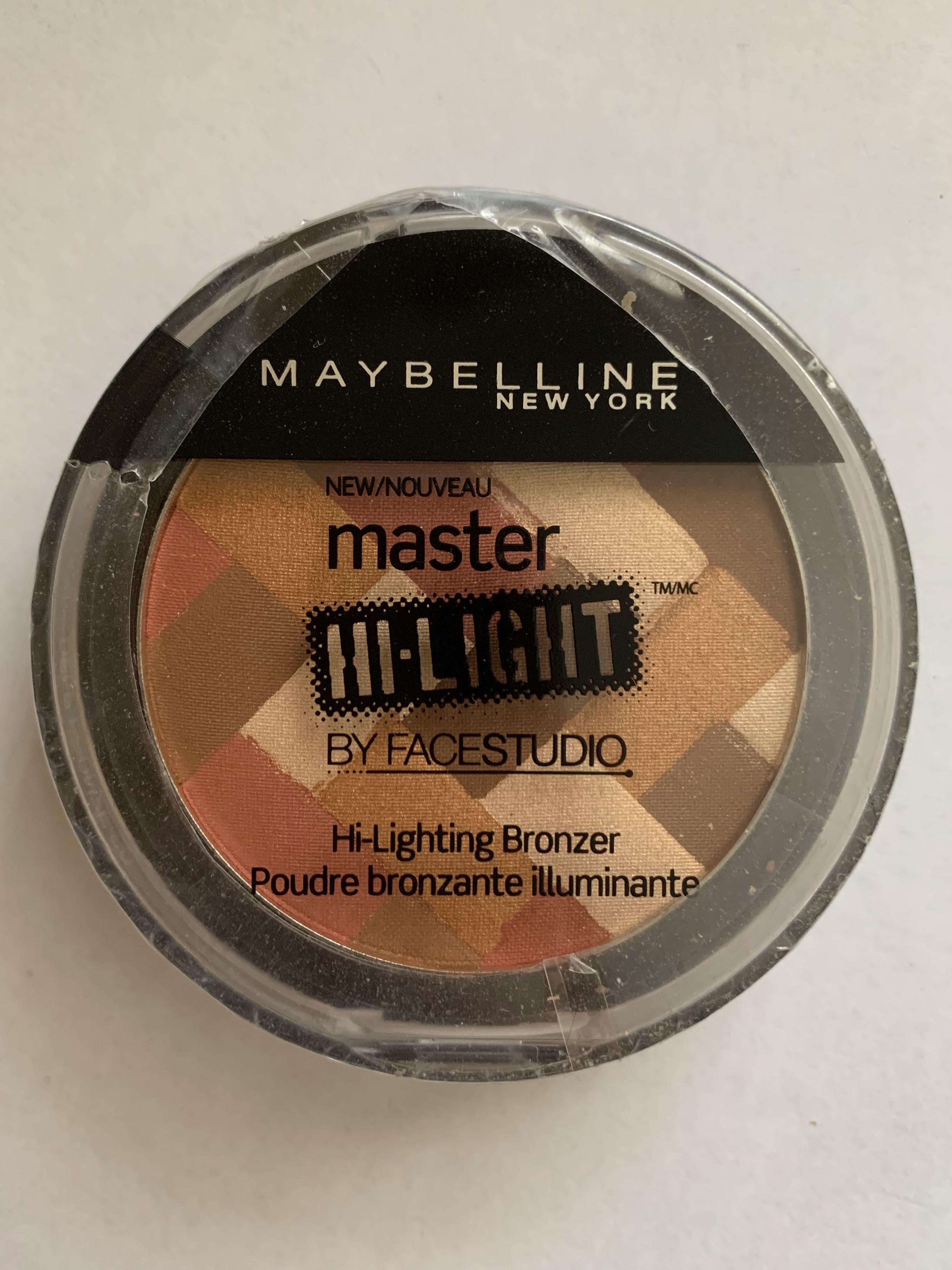 Maybelline - Master Hi-Lighting Bronzer - 60 Deep Bronze