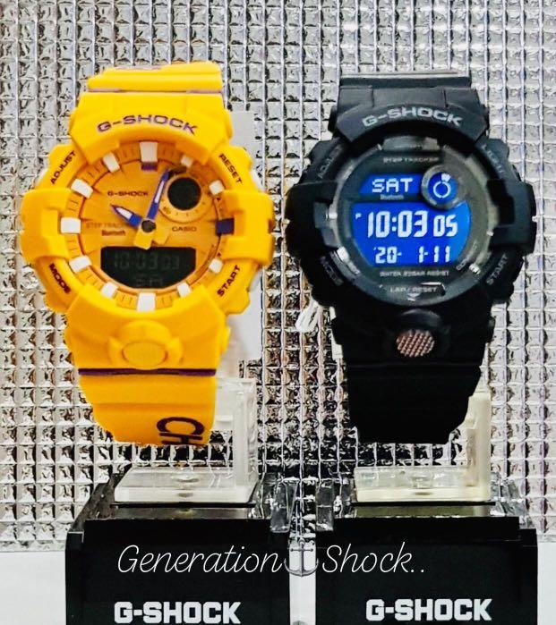 NEW🌟COUPLE💝BLUETOOTH SET : BABYG🌟GSHOCK UNISEX DIVER SPORTS WATCH  : 100% ORIGINAL AUTHENTIC CASIO BABY-G-SHOCK : GBA-800DG-9A + GBD-800-1B / GBA-800-9A